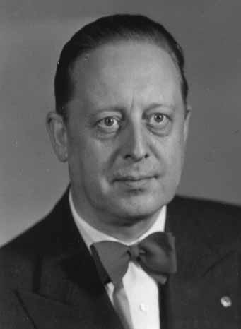 1954 - 1955 Nils Forsberg · 1955 - 1956 Carl-Johan Ederoth - AlmgG